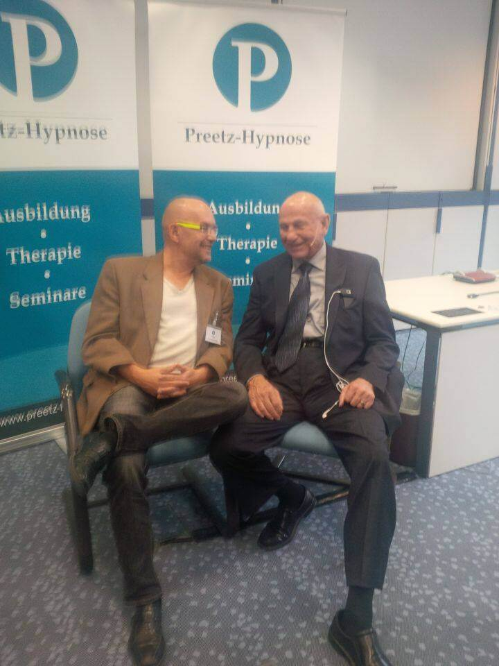 Dr. Ed Yager und Claus Rammig